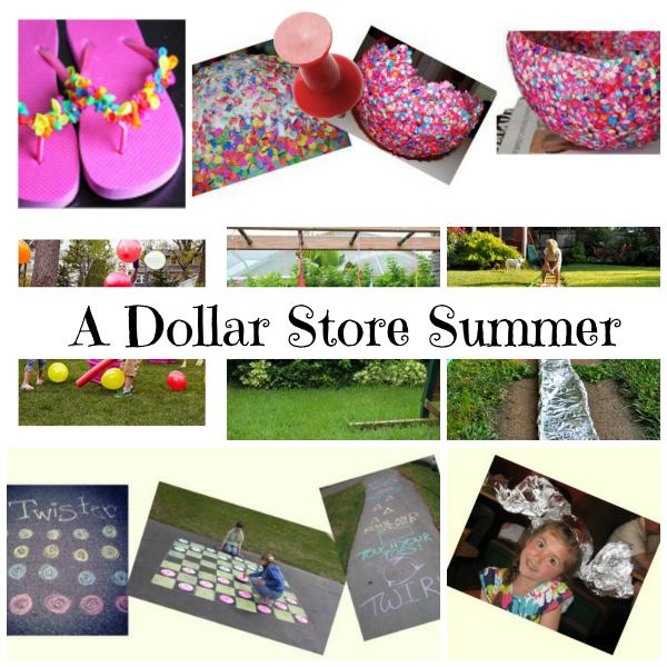 A Dollar Store Summer Banner