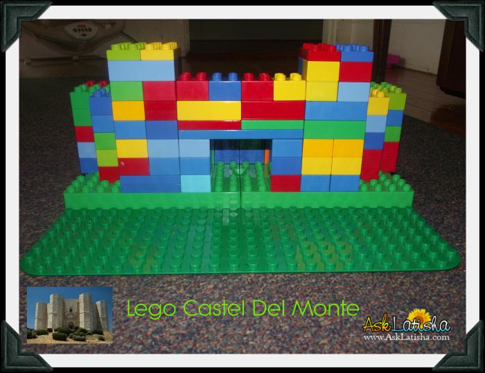 Lego Castel Del Monte