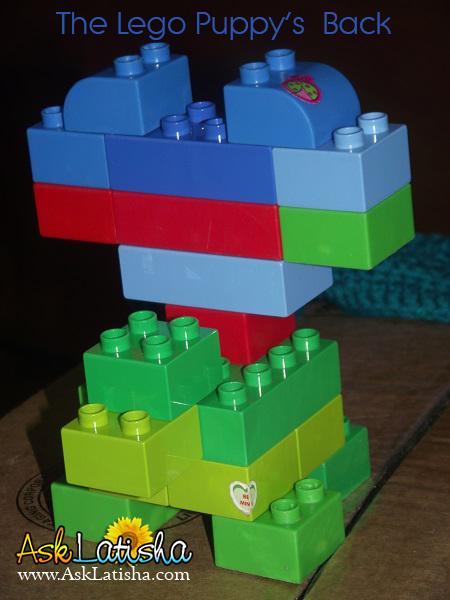 Lego Puppy Back