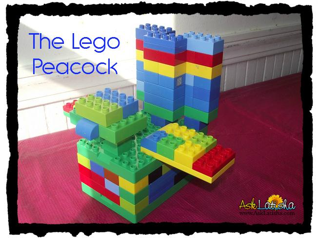 The Lego Peacock