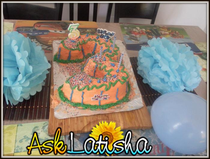 birthday boy # 3 Cake