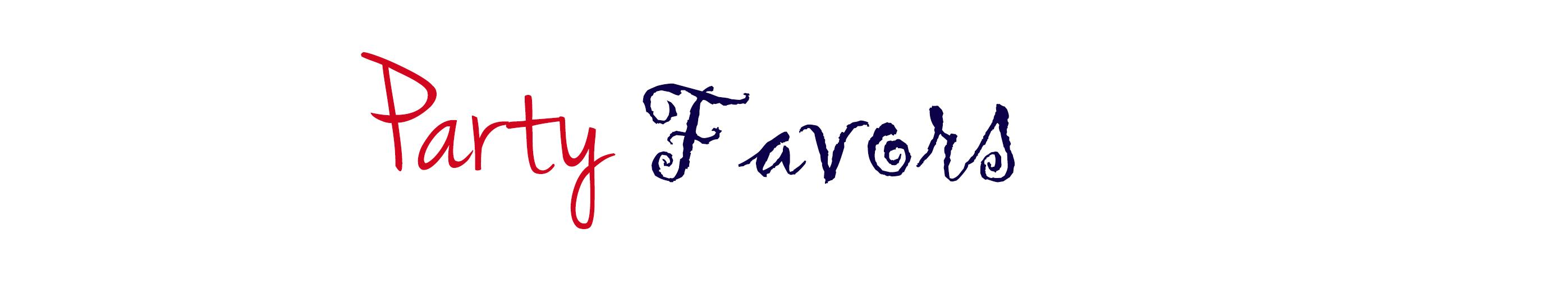 party favors2